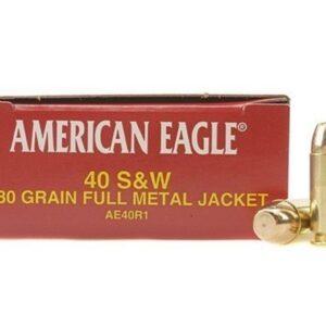 Federal (AE40R1) .40S&W Target 180GR FMJ