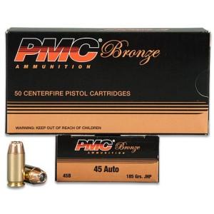 PMC (45B) .45ACP 185GR JHP (50)