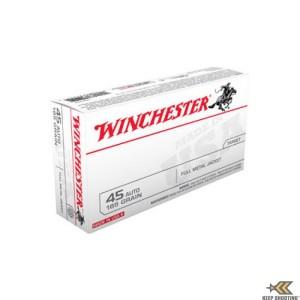 Winchester (USA45A) .45ACP 185 Gr FMJ(50)